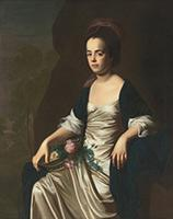 Judith Sargent Murray John Singleton Copley (1738–1815)  Oil on canvas, c. 1769–72  Terra Foundation for American Art, Chicago, Illinois   Daniel J. Terra Art Acquisition Endowment Fund