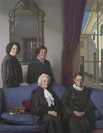 The Four Justices by Nelson Shanks
