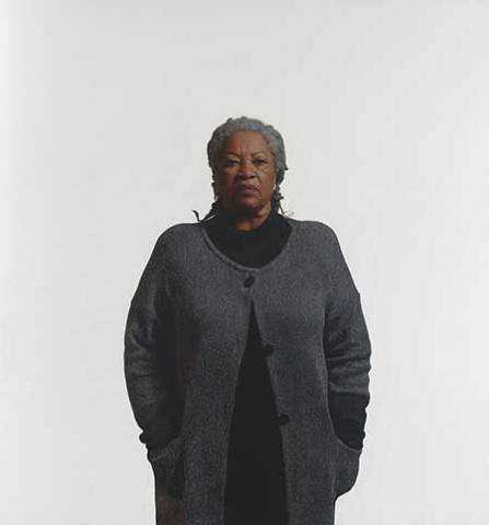 Retrato de Toni Morrison por Robert McCurdy, 2006/Óleo en lienzo/Galería Nacional de Retratos, Instituto Smithsonian, a préstamo de Ian y Annette Cumming