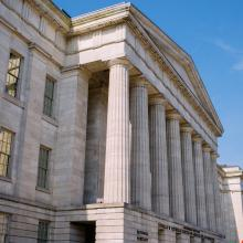 Exterior of the National Portrait Gallery