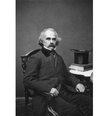Nathaniel Hawthorne MS13 Attribution: Mathew Brady Studio (active 1844 - 1894)