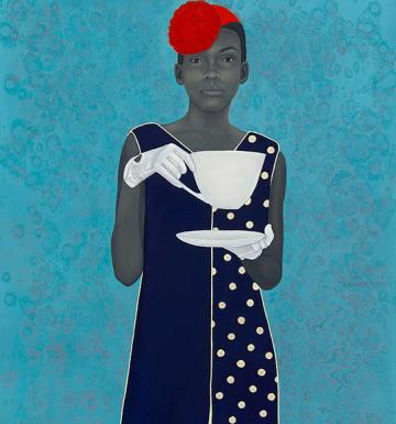 Miss Everything (Unsuppressed Deliverance) by Amy Sherald